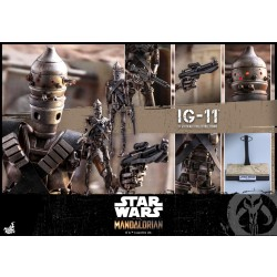 Hot Toys The Mandalorian 1/6 Scale IG-11