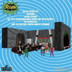 Mezco 5 Points Batman (1966): Deluxe Boxed Set