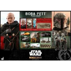 Hot Toys Star Wars: The Mandalorian 1/6 Scale Boba Fett (Deluxe Version)