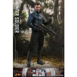 Hot Toys The Falcon and The Winter Soldier 1/6 Scale Winter Soldier