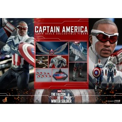 Hot Toys The Falcon and the Winter Soldier 1/6 Scale Captain America