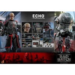 Hot Toys Star Wars: The Bad Batch 1/6 Scale Echo