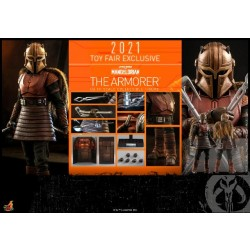 Hot Toy 2021 Toy Fair Exclusive 1/6 Scale Star Wars: The Mandalorian The Armorer