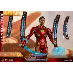 Hot Toys Concept Art Series Avengers: End Game1/6 Scale  Iron Strange diecast Special Edition