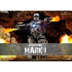 Hot Toys Iron Man 1/6 Scale Iron Man Mark I diecast Normal Edition