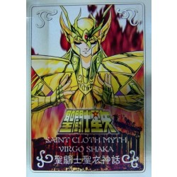 Saint Cloth Myth Virgo Shaka new metal plate