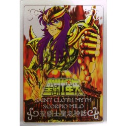 Saint Cloth Myth Scorpio Milo new metal plate