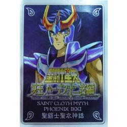 Saint Cloth Myth Phoenix Ikki new metal plate