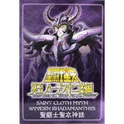 Saint Cloth Myth Wyvern Rhadamanthys OLD Metal Plate
