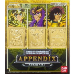 Saint Cloth Myth Appendix - Gold Cloth Box Vol. 3 Japan version