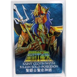 Saint Seiya Myth Cloth Poseidon new metal plate