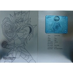 Saint Seiya Myth Cloth Perseus Algol new metal plate