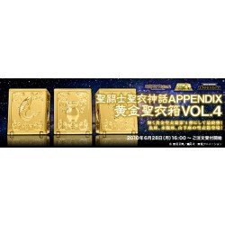 Tamashii Saint Cloth Myth Appendix Gold Cloth Box Vol. 4 Japan ver.