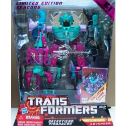Transformers Decepticon Piranacon - G1 Commemorative Seacons (FREE Shipping)