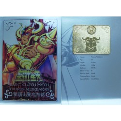 Saint Cloth Myth Taurus Aldebaran New Metal Plate