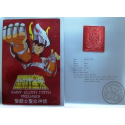 Saint Cloth Myth Pegasus Seiya Early Bronze Cloth New Metal Plate