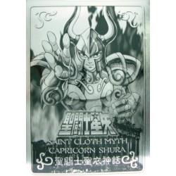 Saint Cloth Myth Gold Saint Capricorn Shura new metal plate
