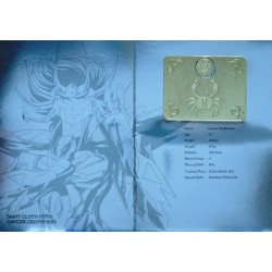 Saint Seiya Myth Cloth Gold Saint Cancer Deathmask new metal plate