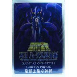 Saint Seiya Myth Cloth Griffin Minos  New Metal Plate