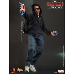 Hot Toys Iron Man 3 1/6 Scale Tony Stark (The Mechanic) 2013-HK ACG Special Version (FREE shipping)