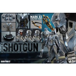 Hot Toys Iron Man 3: 1/6 Mark 40 (XL) Shotgun with Mark XX Python mini figure 2015 ACGHK Limited (FREE shipping)