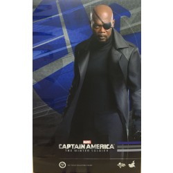 Hot Toys Captain America: The Winter Soldier 1/6 Scale Nick Fury (FREE shipping)
