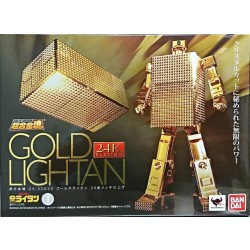Bandai Soul of Chogokin GX-32G24 Gold Lightan 24 Gold Plated Finish