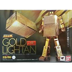 Bandai Soul of Chogokin GX-32G24 Gold Lightan 24 Gold Plated Finish