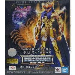 Bandai Saint Seiya Myth Cloth EX Scorpio Milo Saintia Sho Color Edition